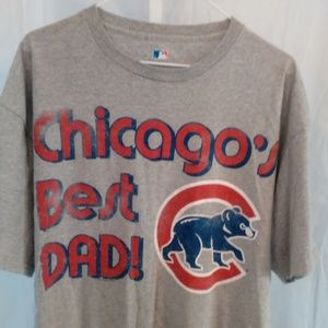 Chicago's Best Dad! Athletic Tee Shirt (XL)